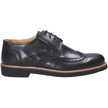 Cipők Férfi Oxford cipők Exton 9190 Fekete