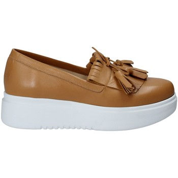 Cipők Női Belebújós cipők Exton E01 Barna