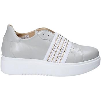 Cipők Női Belebújós cipők Exton E05 Szürke