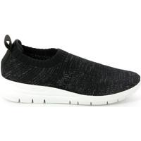 Cipők Női Rövid szárú edzőcipők Grunland SC4434 Fekete