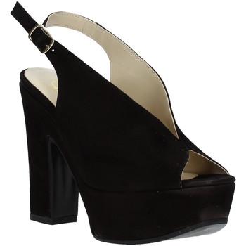 Cipők Női Szandálok / Saruk Grace Shoes TQ 107 Fekete