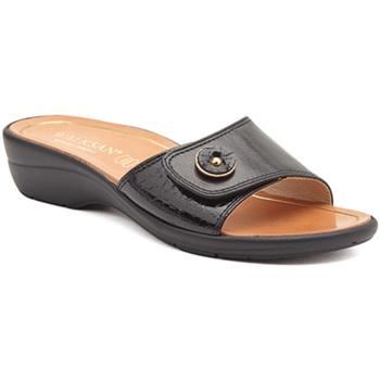 Cipők Női Papucsok Susimoda 1651-01 Fekete
