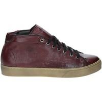 Cipők Férfi Magas szárú edzőcipők Exton 481 Piros