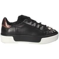 Cipők Női Rövid szárú edzőcipők Janet Sport 42729 Fekete