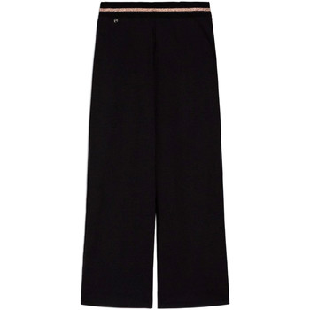 Ruhák Női Lenge nadrágok NeroGiardini E060060D Fekete