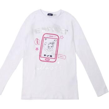 Ruhák Gyerek Hosszú ujjú pólók Chicco 09006871000000 Fehér