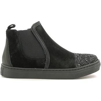 Cipők Gyerek Magas szárú edzőcipők Holalà HS050009L Fekete