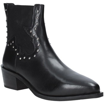 Cipők Női Bokacsizmák Apepazza 9FCLM05 Fekete