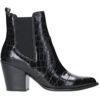Cipők Női Bokacsizmák Steve Madden SMSPATRICIA-BLKCRO Fekete