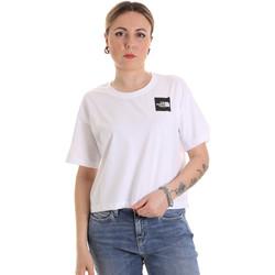 Ruhák Női Rövid ujjú pólók The North Face NF0A4SY9FN41 Fehér
