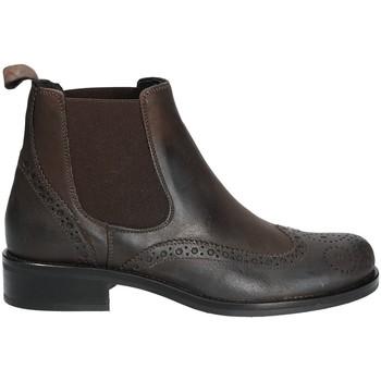 Cipők Női Csizmák Mally 4591 Barna