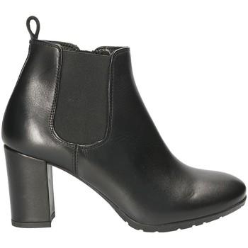 Cipők Női Bokacsizmák Mally 5500S Fekete