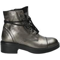 Cipők Női Bokacsizmák Mally 6019 Szürke