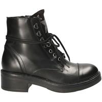 Cipők Női Csizmák Mally 6019 Fekete