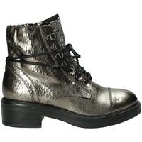 Cipők Női Csizmák Mally 6019M Szürke