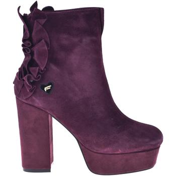 Cipők Női Bokacsizmák Fornarina PI18MN1039S072 Piros