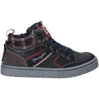 Cipők Gyerek Magas szárú edzőcipők Wrangler WJ17225 Kék