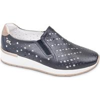 Cipők Női Belebújós cipők Valleverde V66384 Kék