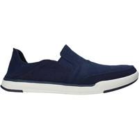 Cipők Férfi Belebújós cipők Clarks 148615 Kék