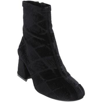 Cipők Női Bokacsizmák Apepazza SHR05 Fekete