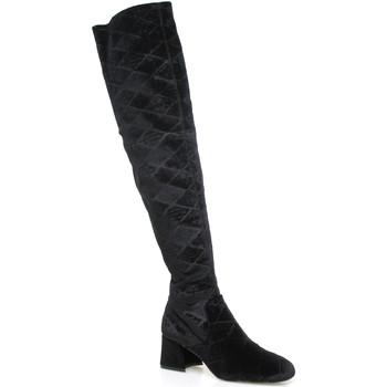 Cipők Női Combcsizmák Apepazza SHR06 Fekete
