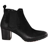 Cipők Női Bokacsizmák Mally 5500 Fekete