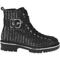 Cipők Női Bokacsizmák Elvio Zanon I6508N Fekete