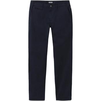 Ruhák Férfi Chino nadrágok / Carrot nadrágok Napapijri NP0A4E32 Kék