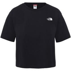 Ruhák Női Rövid ujjú pólók The North Face NF0A4SYCJK31 Fekete