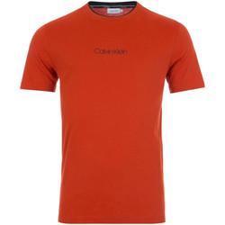 Ruhák Férfi Rövid ujjú pólók Calvin Klein Jeans K10K104934 Piros