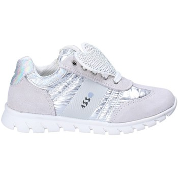 Cipők Gyerek Rövid szárú edzőcipők Asso 62506 Fehér