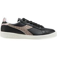 Cipők Női Rövid szárú edzőcipők Diadora 501.173.994 Fekete