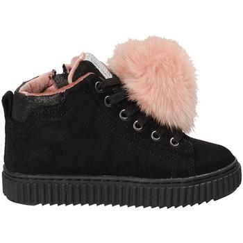 Cipők Gyerek Magas szárú edzőcipők Grunland PO1081 Fekete