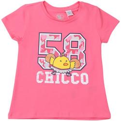Ruhák Gyerek Rövid ujjú pólók Chicco 09006955000000 Rózsaszín