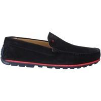 Cipők Férfi Mokkaszínek Rogers 701 Kék