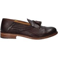 Cipők Férfi Mokkaszínek Exton 3105 Barna