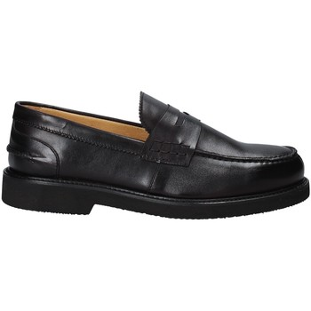 Cipők Férfi Mokkaszínek Exton 9102/ Fekete