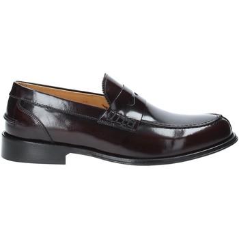 Cipők Férfi Mokkaszínek Exton 102 Piros