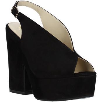 Cipők Női Szandálok / Saruk Grace Shoes ALBA 107 Fekete