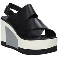 Cipők Női Szandálok / Saruk Marco Ferretti 660298MF Fekete