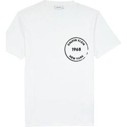 Ruhák Férfi Rövid ujjú pólók Calvin Klein Jeans K10K104509 Fehér