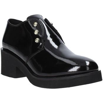 Cipők Női Mokkaszínek Apepazza 9FSTN20 Fekete