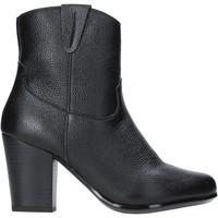 Cipők Női Bokacsizmák The Flexx E8012_02 Fekete