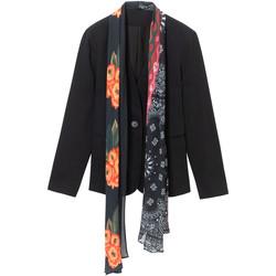 Ruhák Női Kabátok / Blézerek Desigual 19WWEWAP Fekete