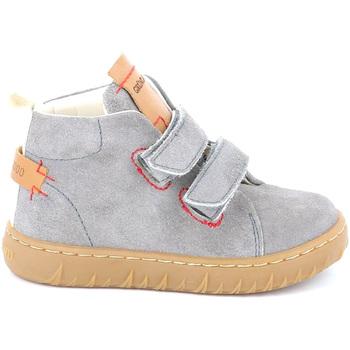 Cipők Gyerek Magas szárú edzőcipők Grunland PP0272 Szürke