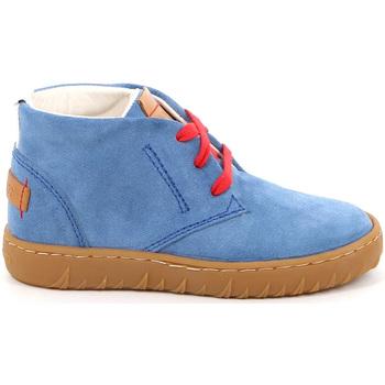 Cipők Gyerek Magas szárú edzőcipők Grunland PO1471 Kék