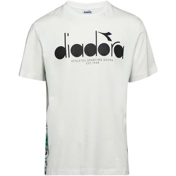 Ruhák Férfi Rövid ujjú pólók Diadora 502176630 Bézs