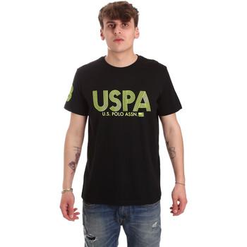 Ruhák Férfi Rövid ujjú pólók U.S Polo Assn. 57197 49351 Fekete