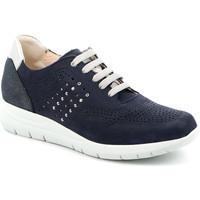 Cipők Női Rövid szárú edzőcipők Grunland SC4874 Kék