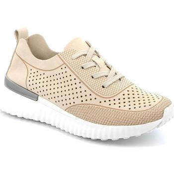 Cipők Női Rövid szárú edzőcipők Grunland SC4906 Bézs